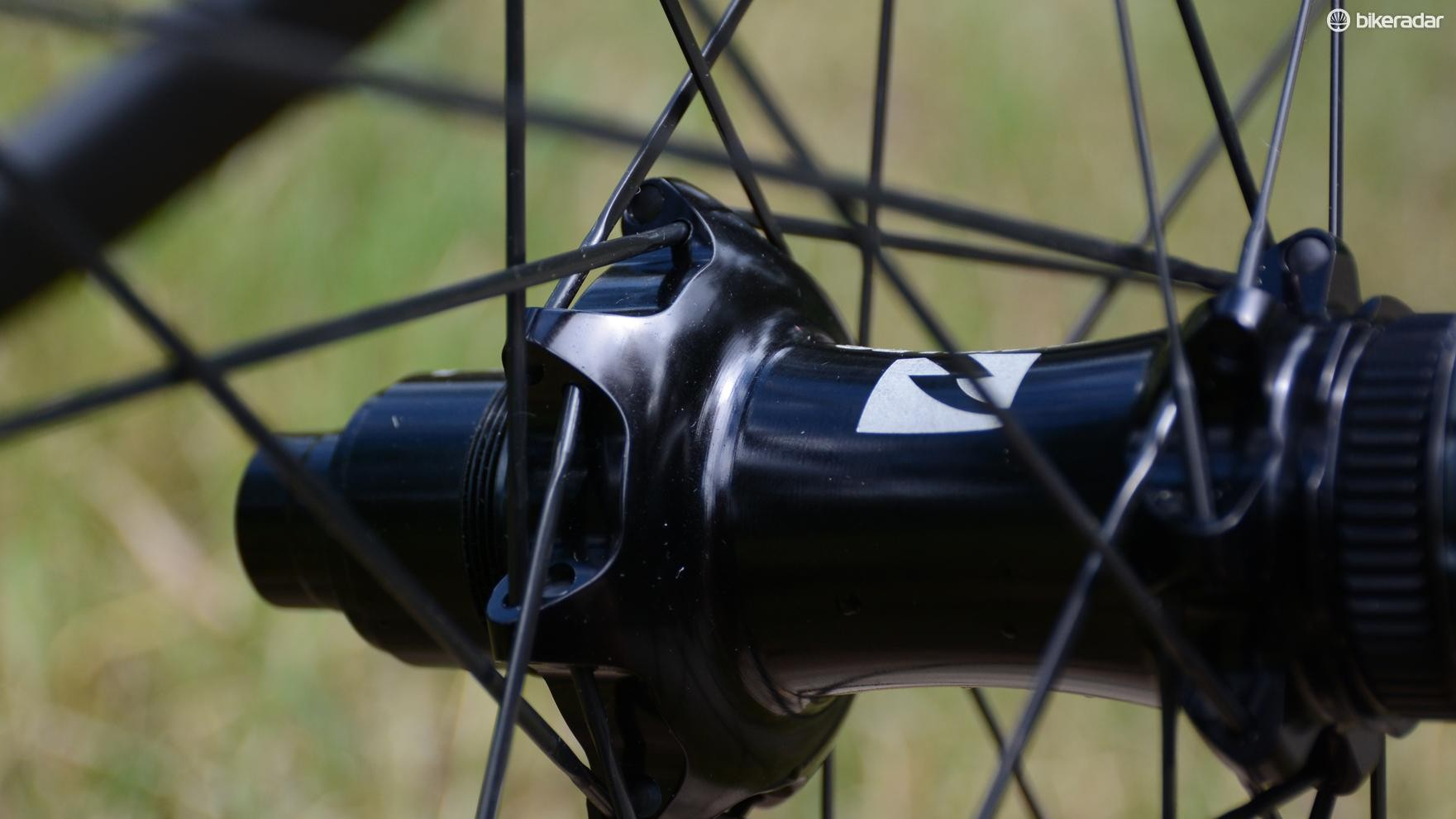 Straight-pull steel spokes are used, just not the blingy I9 aluminum ones