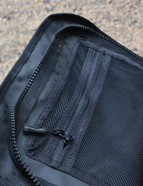 Pockets abound, this one under the main flap is great for papers, tickets, etc.