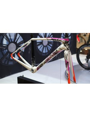 Specialized had some very special paintwork on show on its stand