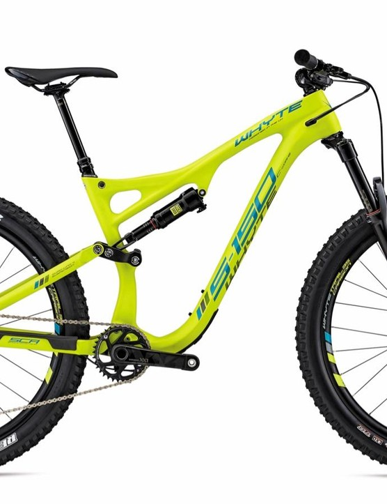 There's plenty of room in the Boost frame and fork for 27.5 by 2.8