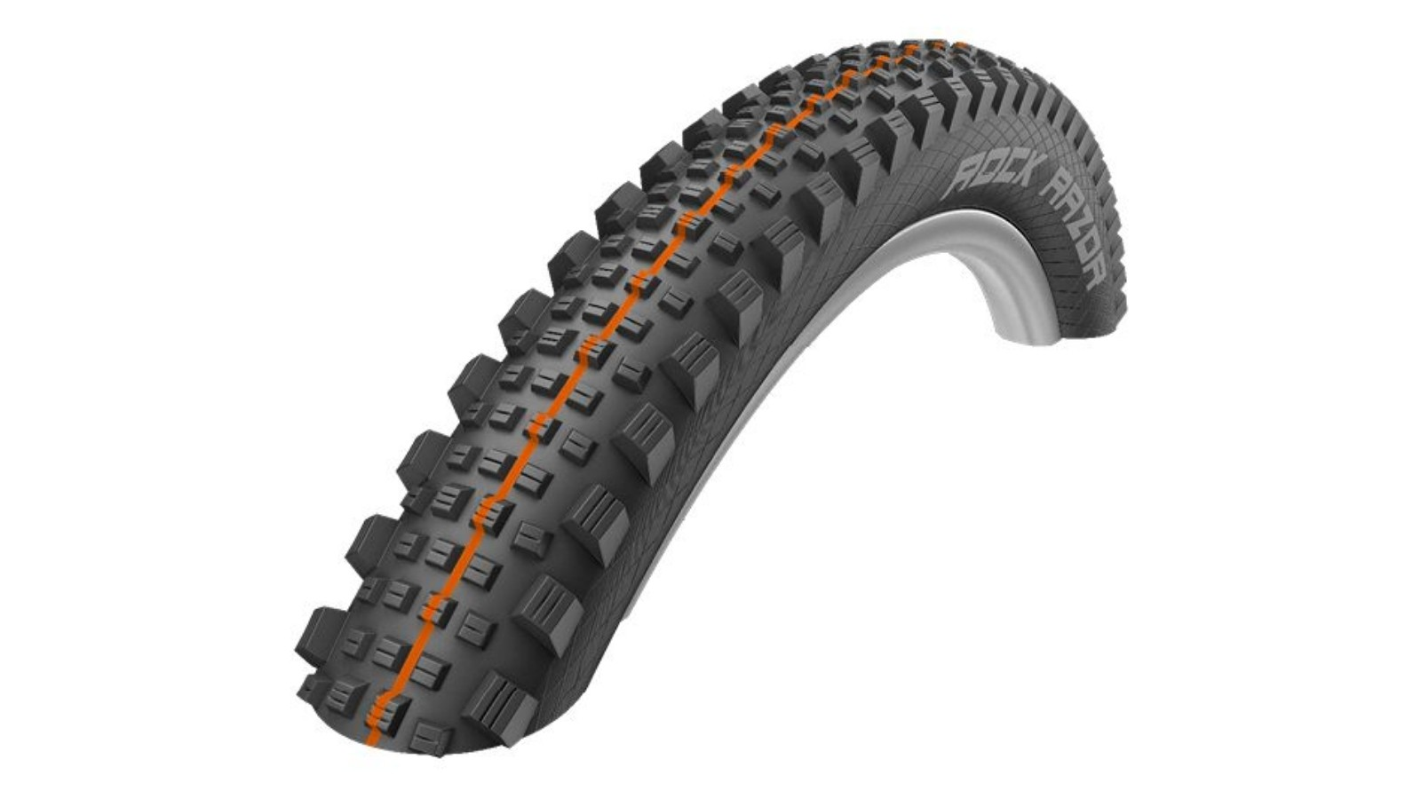 The Schwalbe Rock Razor is a good rear tyre option with the Addix Soft compound