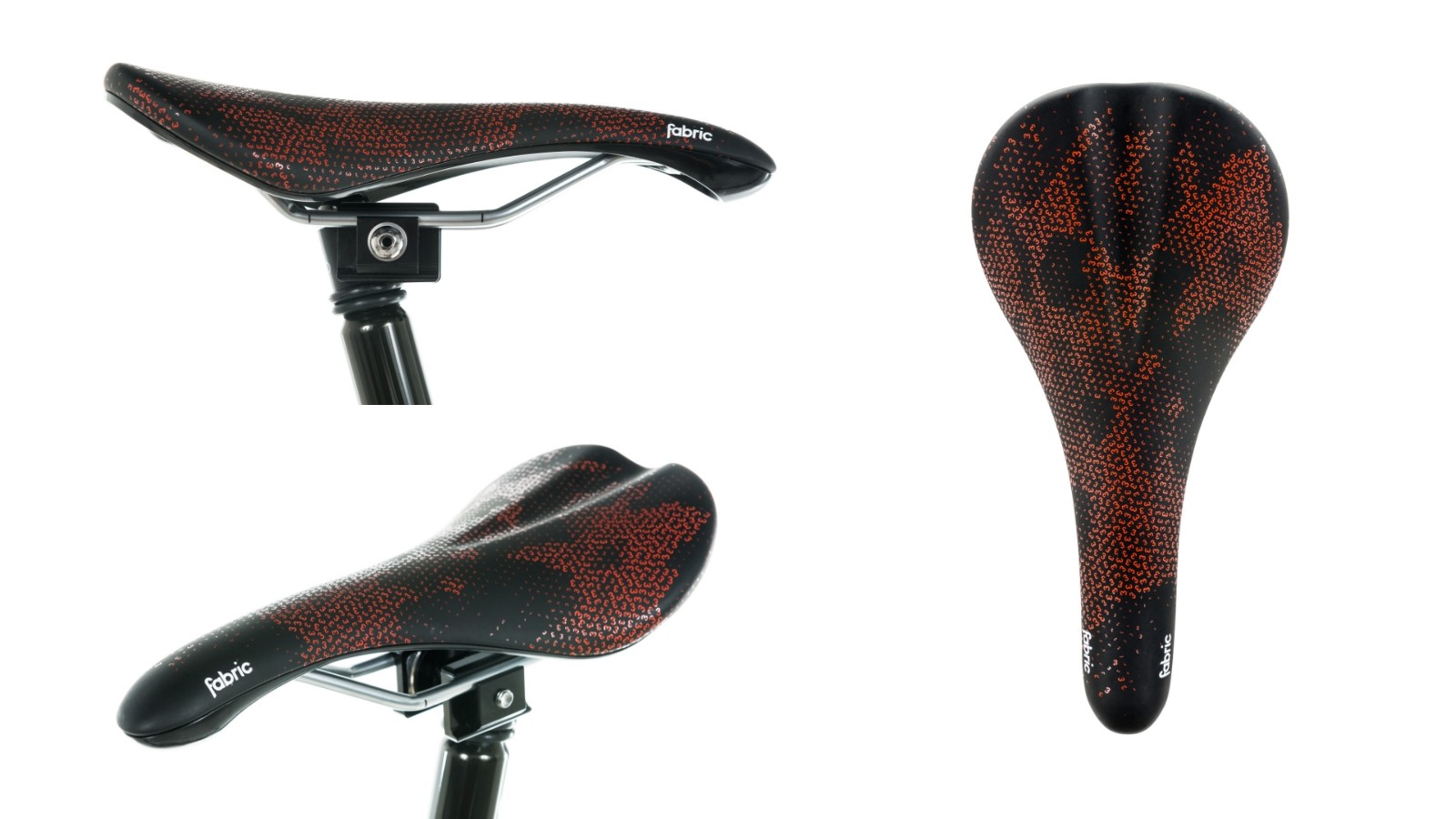 The Fabric Scoop saddle features a Devesa print pattern, paying homage to Girona, the hometown of CHPT3