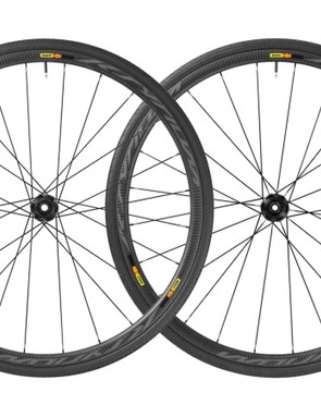 You can save £1,090 on the Mavic Ksyrium Pro Carbon SL T Disc wheelset right now