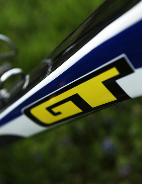 GT's distinctive design cues yield relatively sharp creases in the frame tubes.