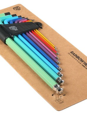 Help them stay organised with a fun rainbow pack of Allen keys