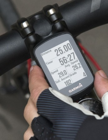 A simple on-bike computer such as the Garmin Edge will help your roadie navigate their way