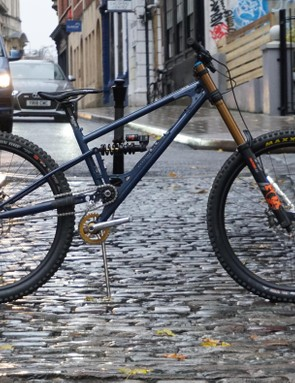 This hand-built beast is designed to tackle the roughest tracks, with just one gear