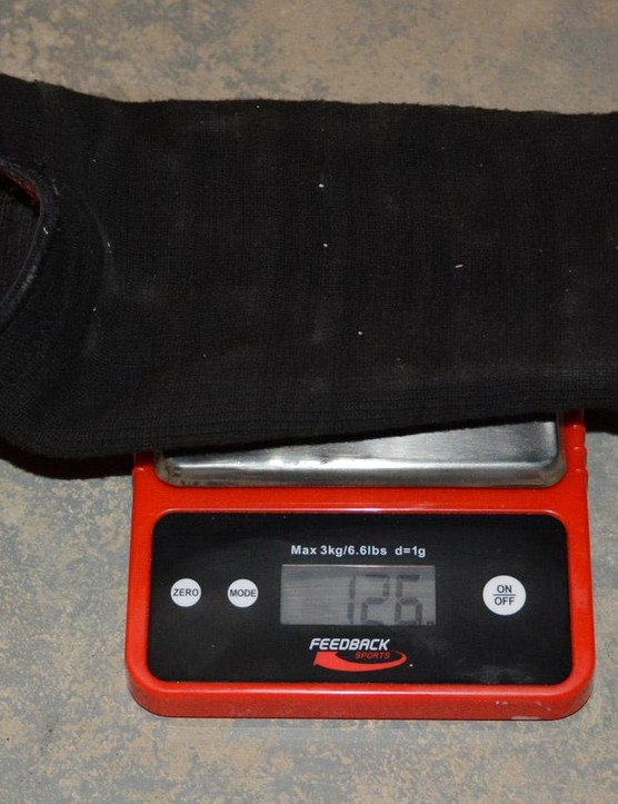 126 grams for each TLD Speed Sleeve pad