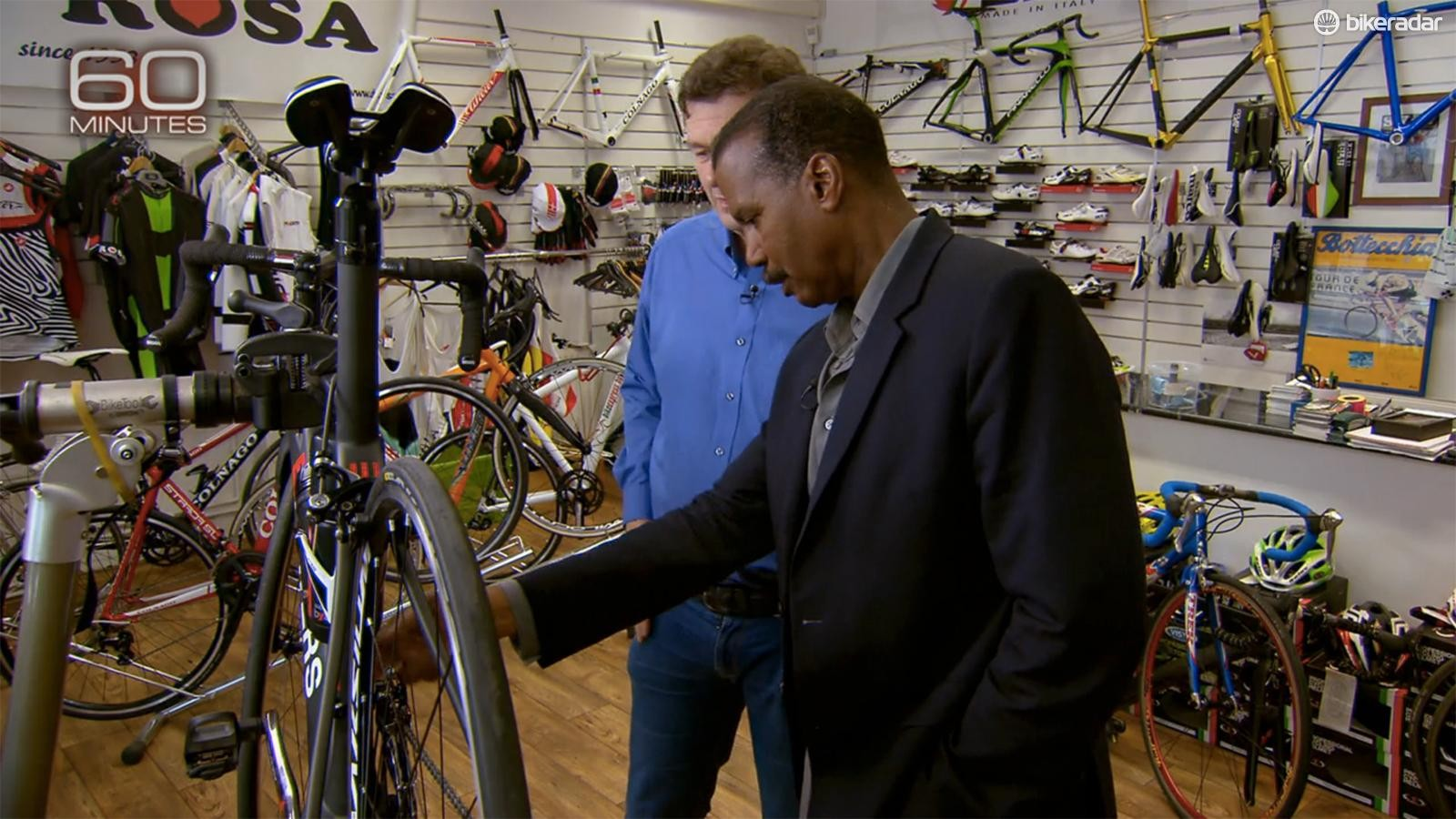 60 Minutes recently investigated motorized doping in cycling