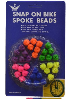 Who didn't have these on their bike as a child?