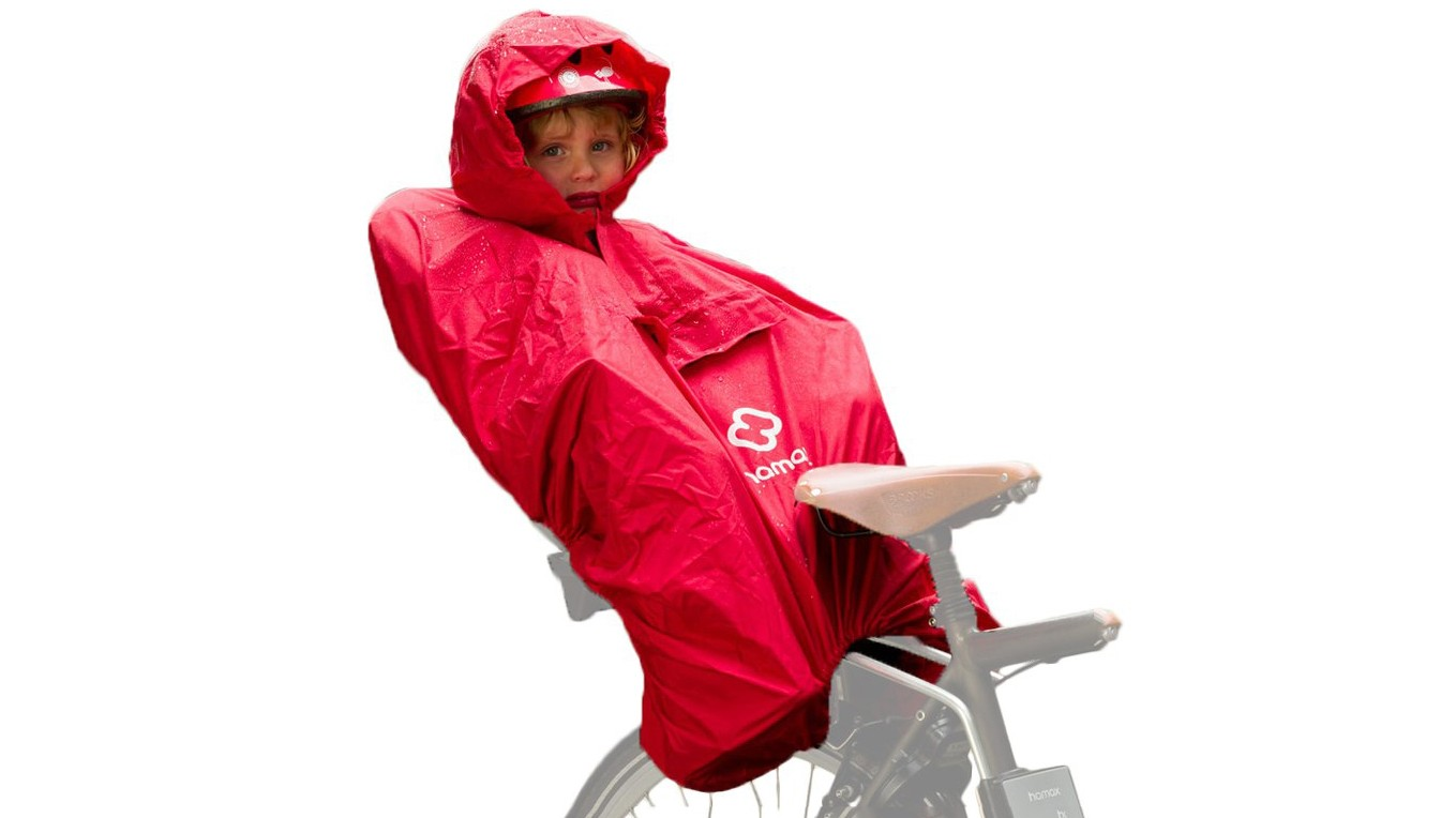 Enlarge that poncho and it could be the next big thing in bikepacking