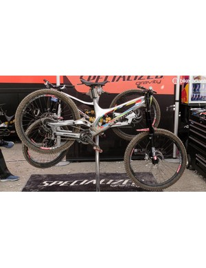 A very special bike for a very fast rider