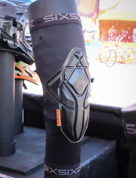The new SixSixOne Recon line of lightweight elbow and knee pads use the same reactive padding as G-Form, but are made to the company's specifications. Retail pricing is set at $59