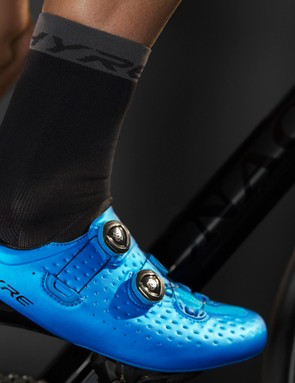 The S-Phyre socks are designed to work in unison with S-Phyre shoes