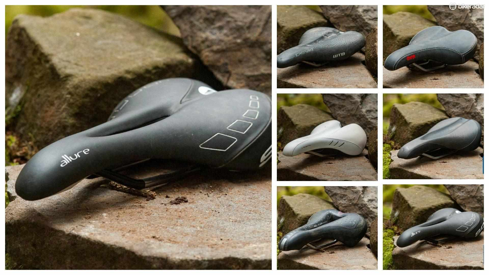6 of the best women's mountain bike saddles put to the test