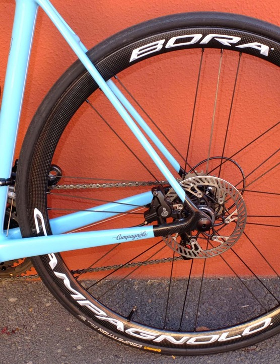 Weighing under 1,300g for a pair, these are very light, climbing-friendly wheels. A clincher version will be coming too