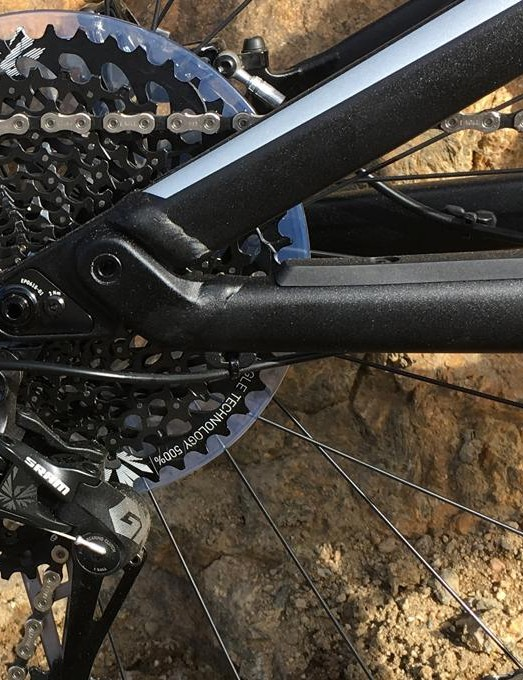 12 speeds are shuffled by SRAM's GX Eagle