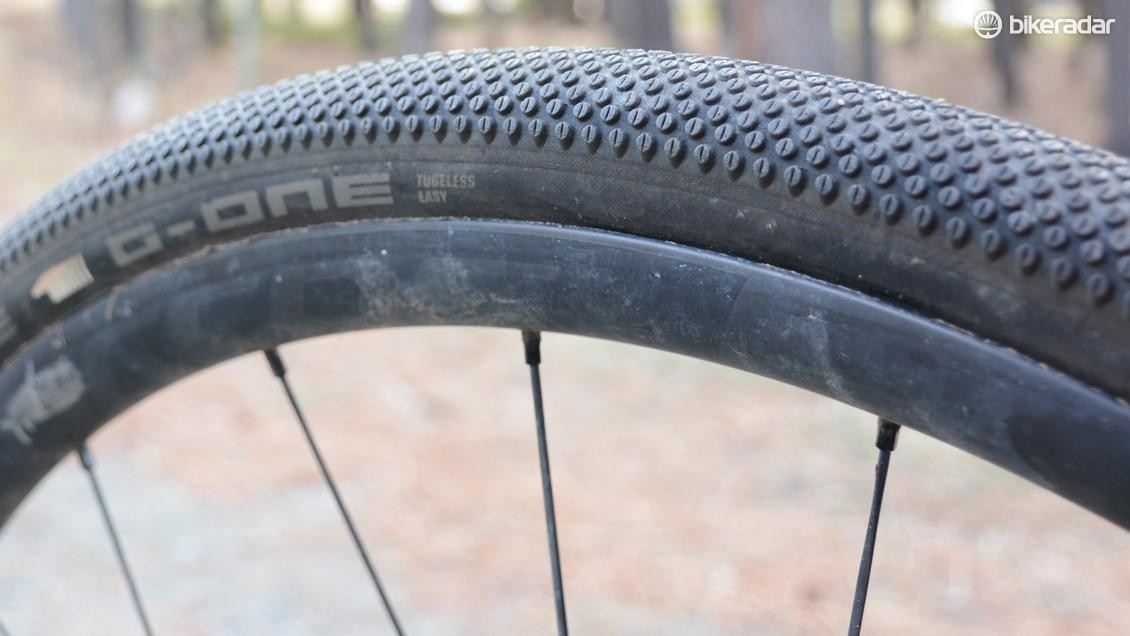 The thin carcass lent a supple ride feel, but also rendered a few punctures