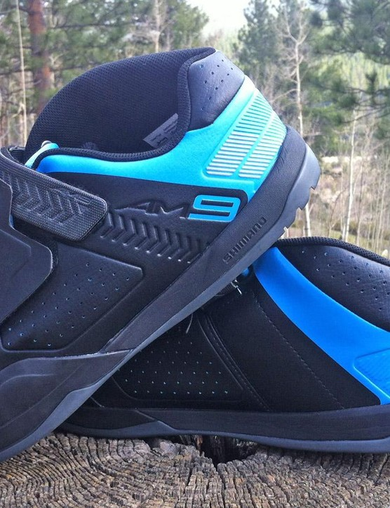 My go-to shoes for almost every ride are Shimano's AM9s