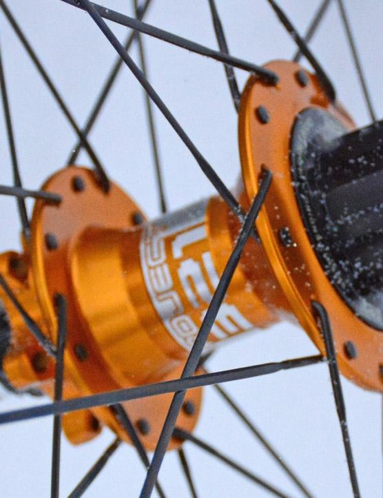 Project 321's rear hub features a magnetic pawl system for lightning fast engagement