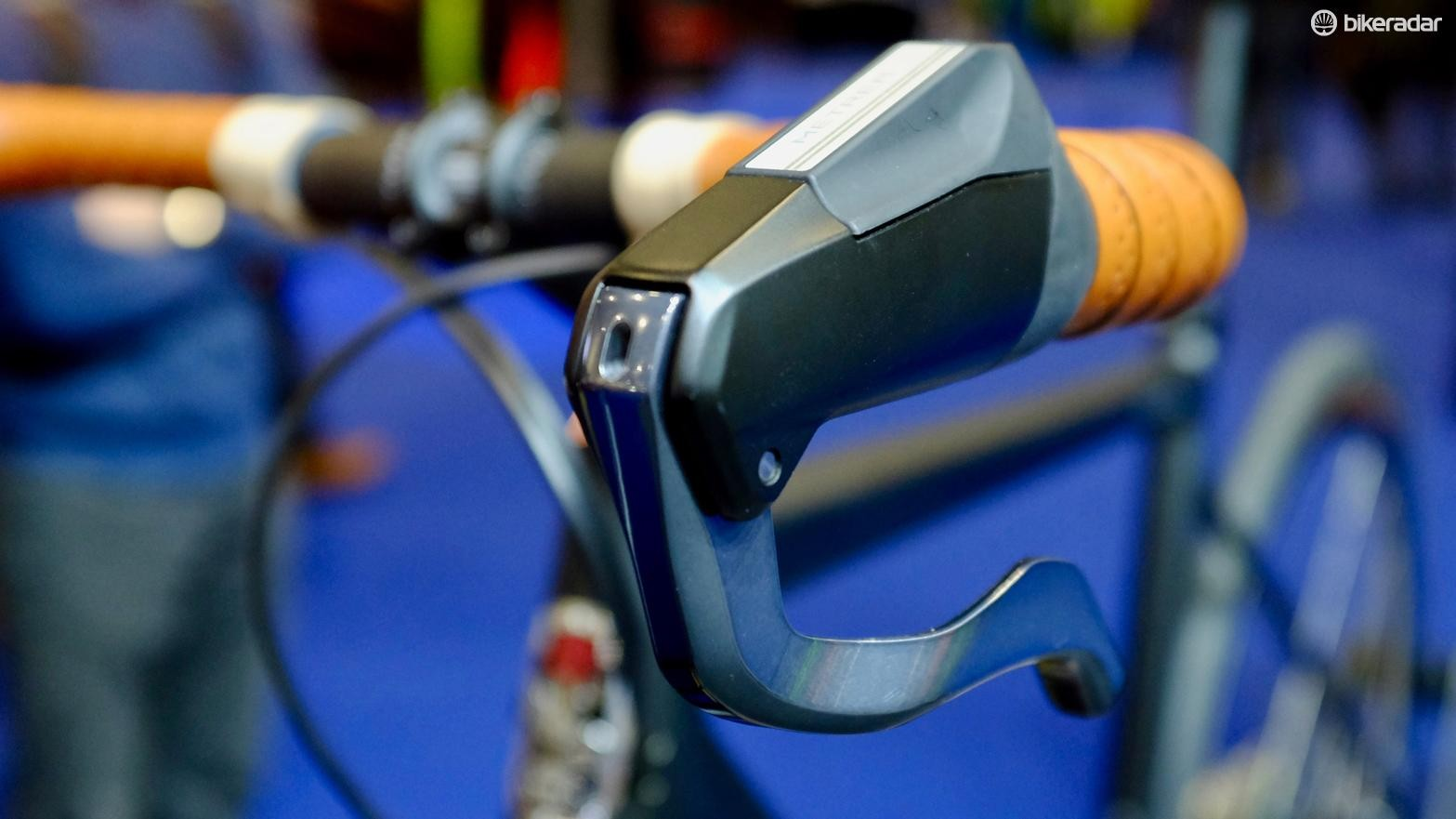 Shimano's Metrea components are on board