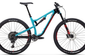 The Instinct Carbon 50 features Fox suspension and Race Face dropper post
