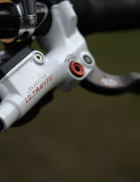 The formerly BlackBox-only white Avid Juicy Ultimate brakes are now available to mere mortals