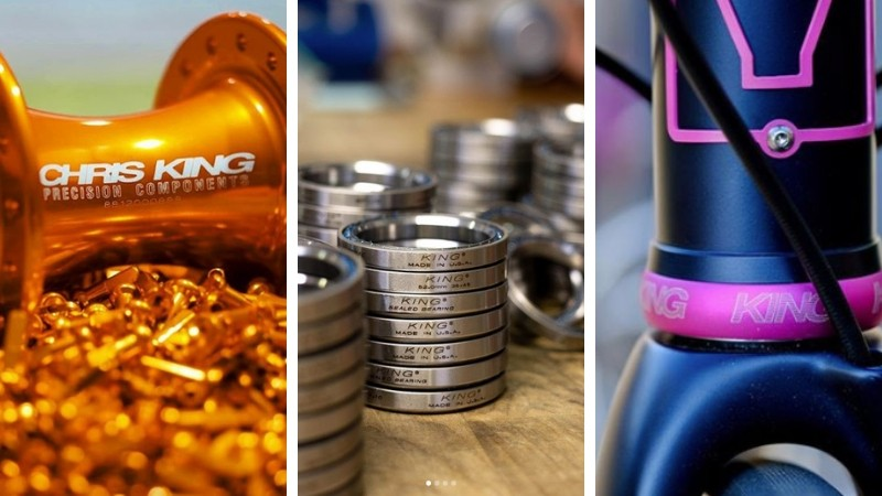 A Chris King component will last a lifetime and cause as little damage as possible in its production process