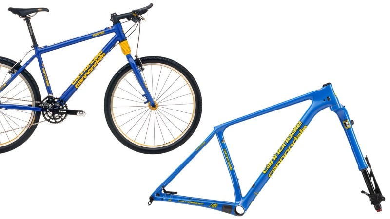 Choose between Team Blue Gloss, harking back to the CAAD3, 4 and 5 of late '90s racing fame