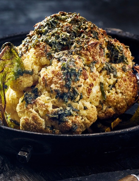 Don't relegate cauliflower to side dish territory when it can be a stunning main event