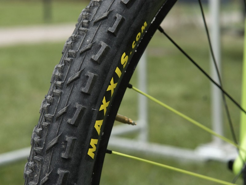 Multivan Merida riders made use of Maxxis' new Monorail…
