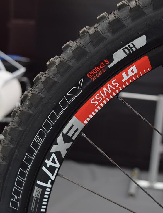 "2.5"" Hillbilly tires all round in the Specialized pits"
