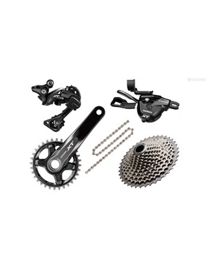 Deore XT is the workhorse of Shimano's mountain bike groups