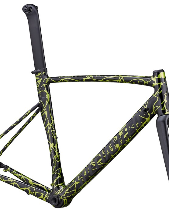 The disc frameset is very handsome too