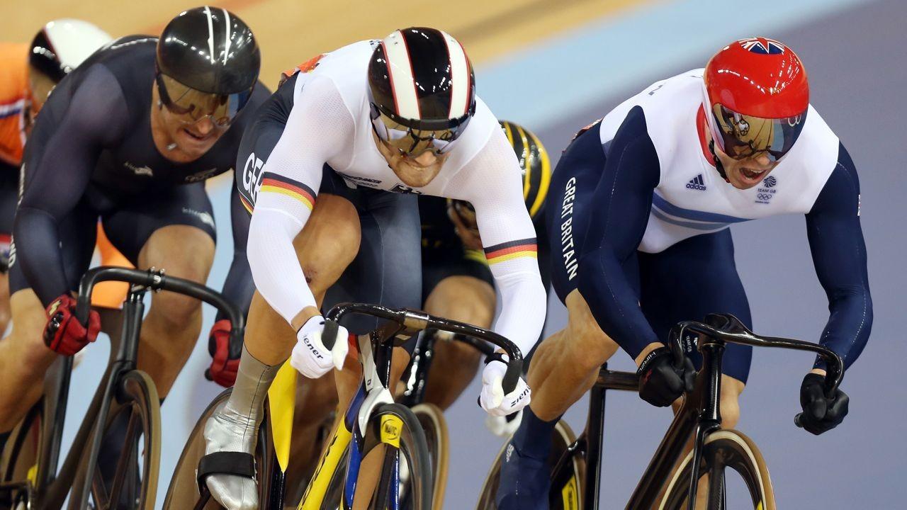 Sir Chris Hoy crushes his track rivals at London 2012