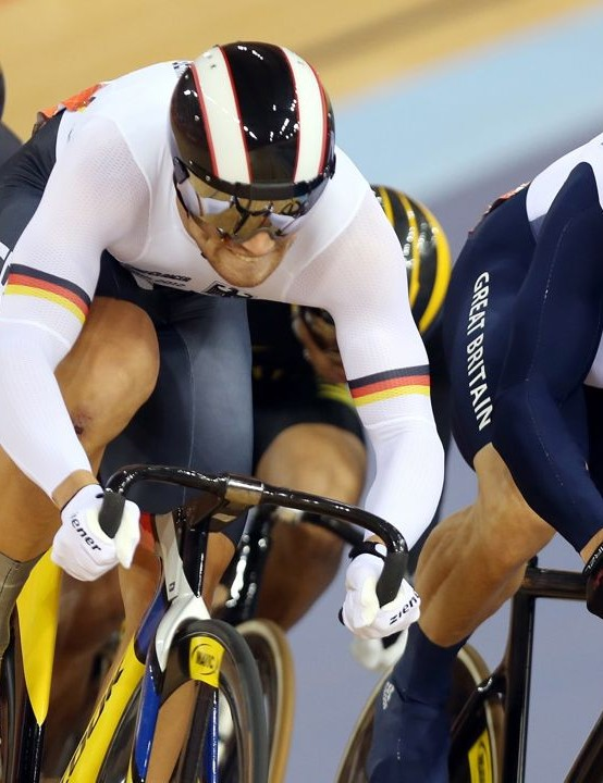 Sir Chris Hoy crushes his track rivals at London 2012