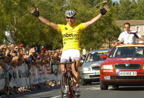 Britain's Cooke wins the fifth stage of the French 'Grande Boucle', June 30, 2006.