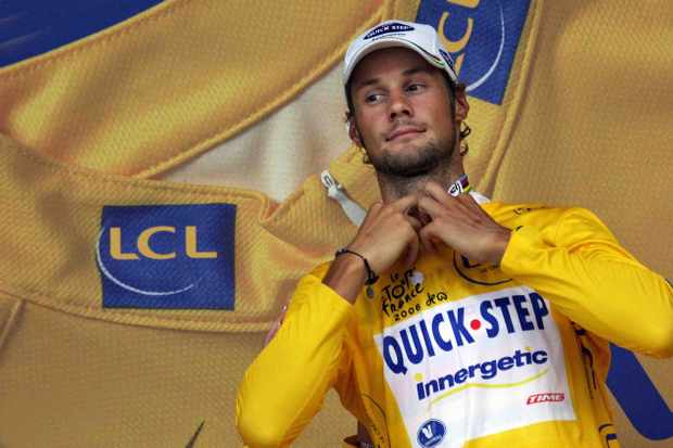 Tom Boonen was the last Belgian to wear yellow, in 2006.