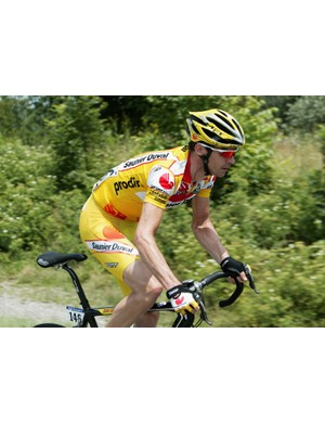 Millar turns it on in the breakaway in stage 12 of the 2006 Tour de France
