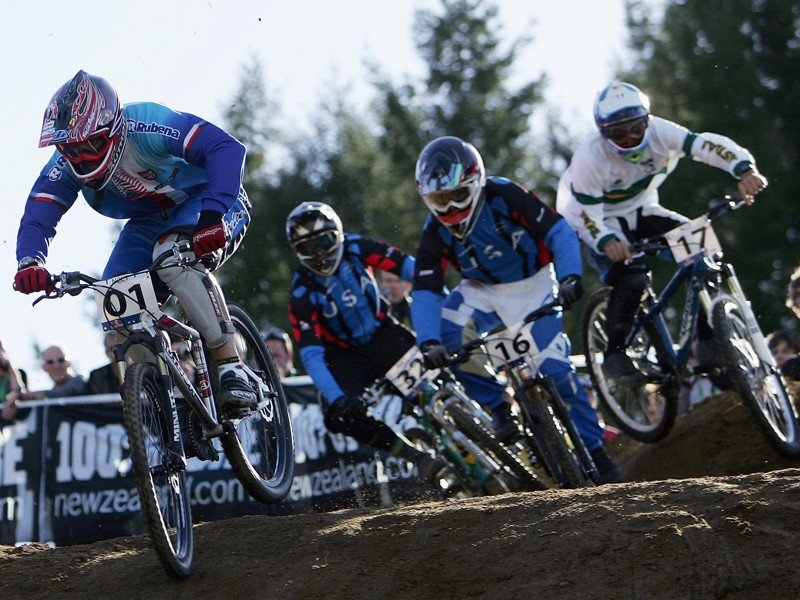 There will be an indoor mountain cross competition held at InterBike in Las Vegas in September