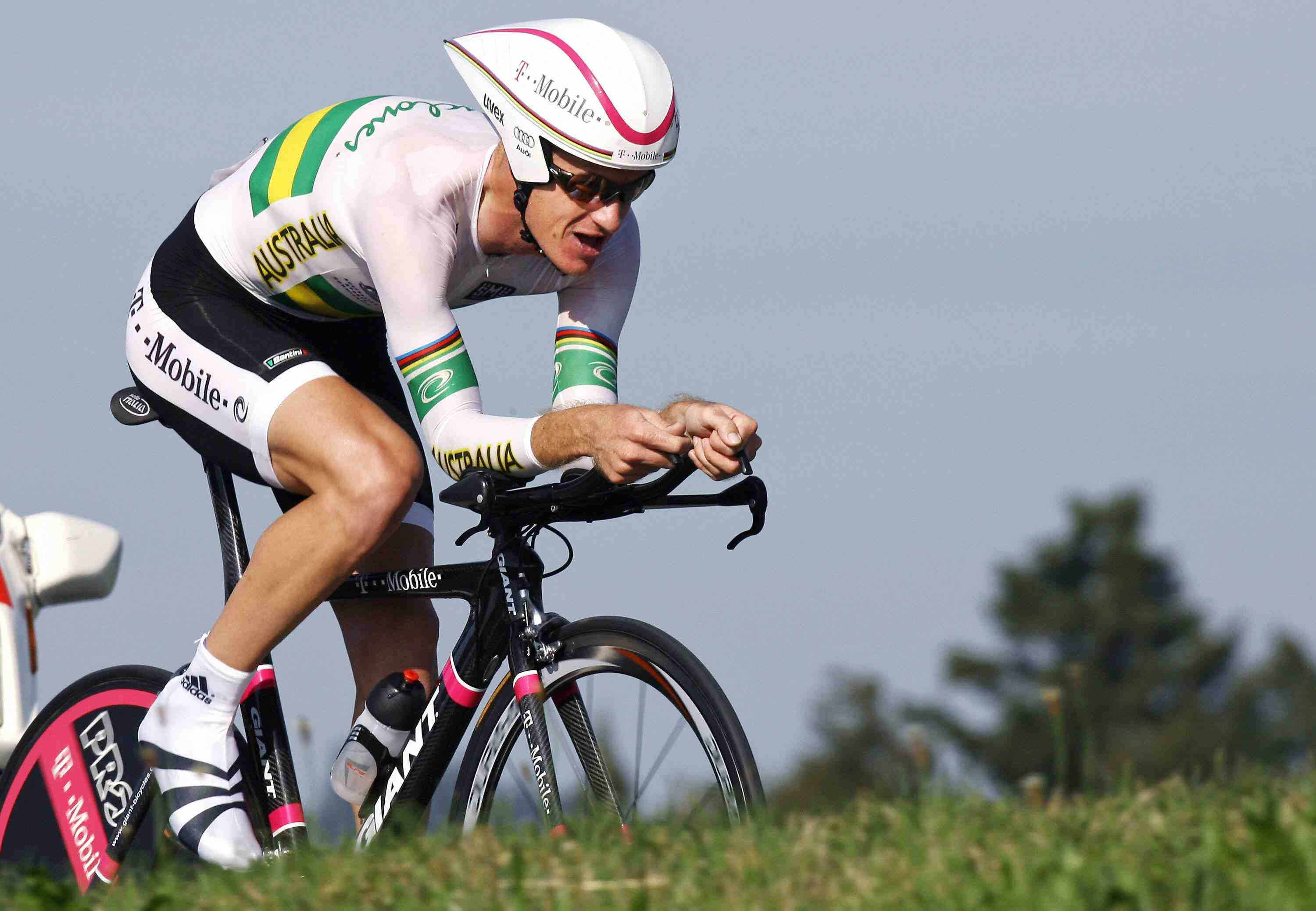 Australian pro Michael Rogers is an accomplished time trialist.