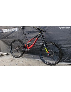 Alex Fayolle rode this bike, amidst controversy, to first place at last month's round at Lourdes