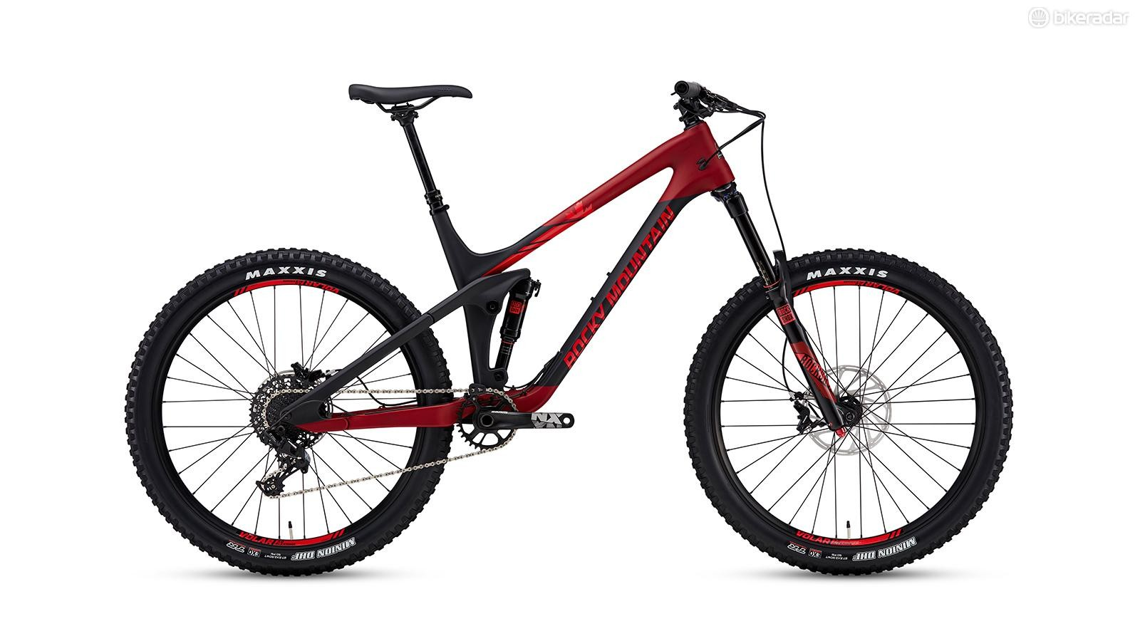 The entry-level model is the Slayer 730 MSL. Given the price of admission, and the fact it shares the same frame as the top-end bike, this looks like a great option for riders looking to get their start in enduro racing. The 730 sports a 170mm RockShox Yari RC fork with a Deluxe Debonair RT shock. SRAM's entry-level 1x NX drivetrain and Guide R brakes keep the price low.