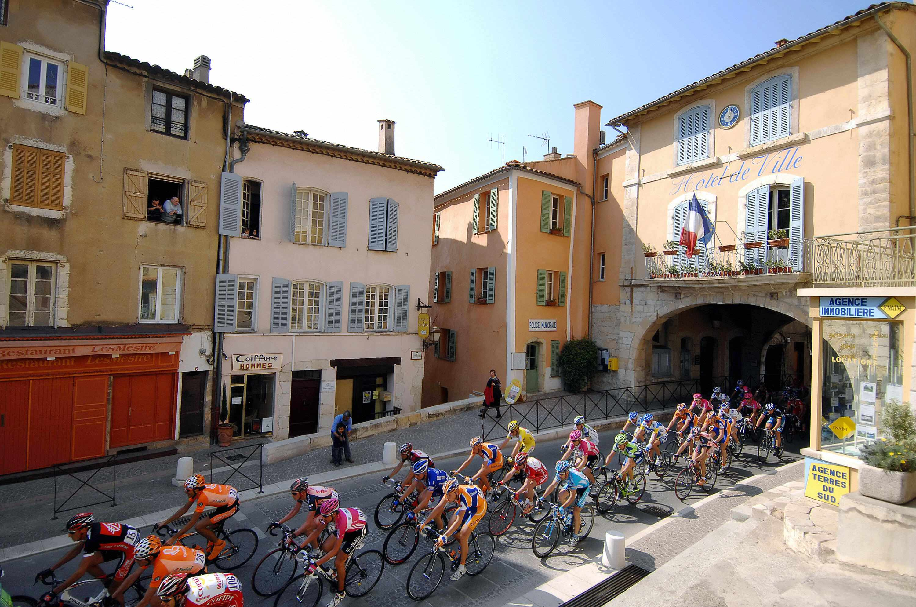 Paris-Nice 2007. The 2008 edition is the focus of a fierce battle between organisers and the UCI