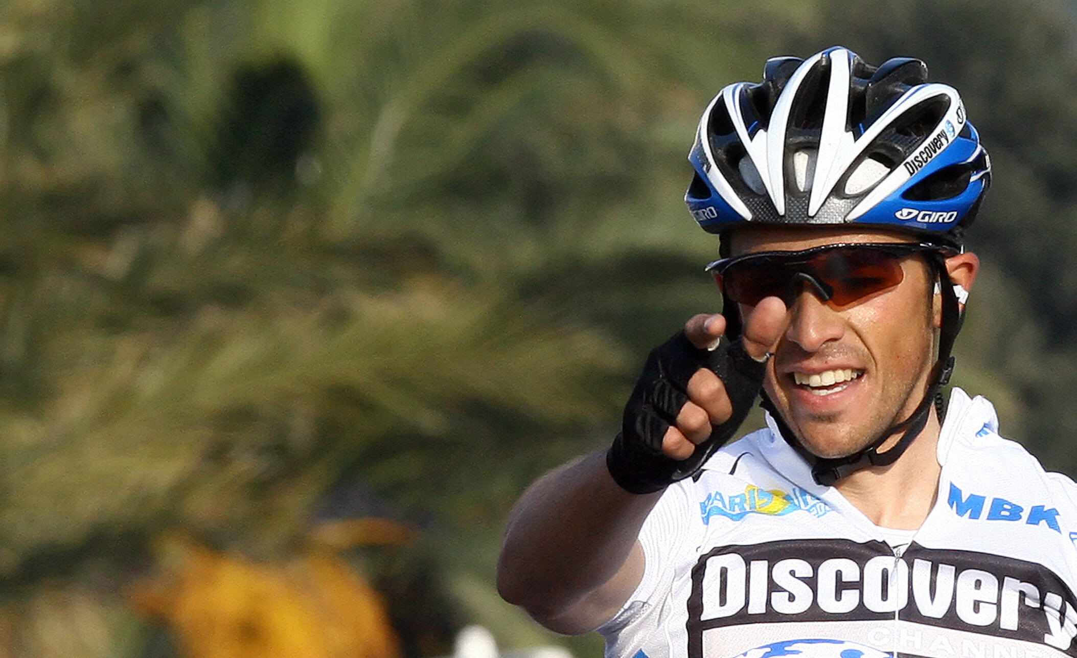 2007 Paris-Nice winner Alberto Contador