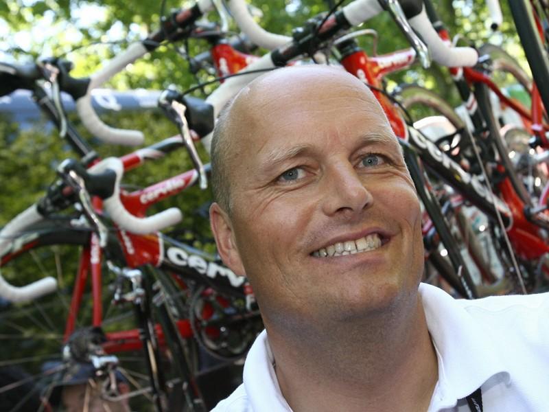 Bjarne Riis is back as the 1996 Tour de France winner, despite his doping confession