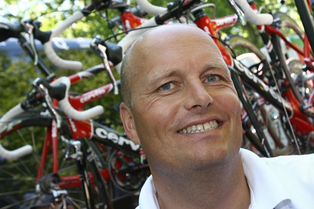 Bjarne Riis is back as the 1996 Tour de France winner, despite his doping confession