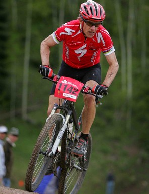 Ned Overend, 51, finished  13th in the Pro Division of the Men's Nature Valley Mountain Bike Championship during the Teva Mountain Games on June 2, 2007 in Vail, Colorado.