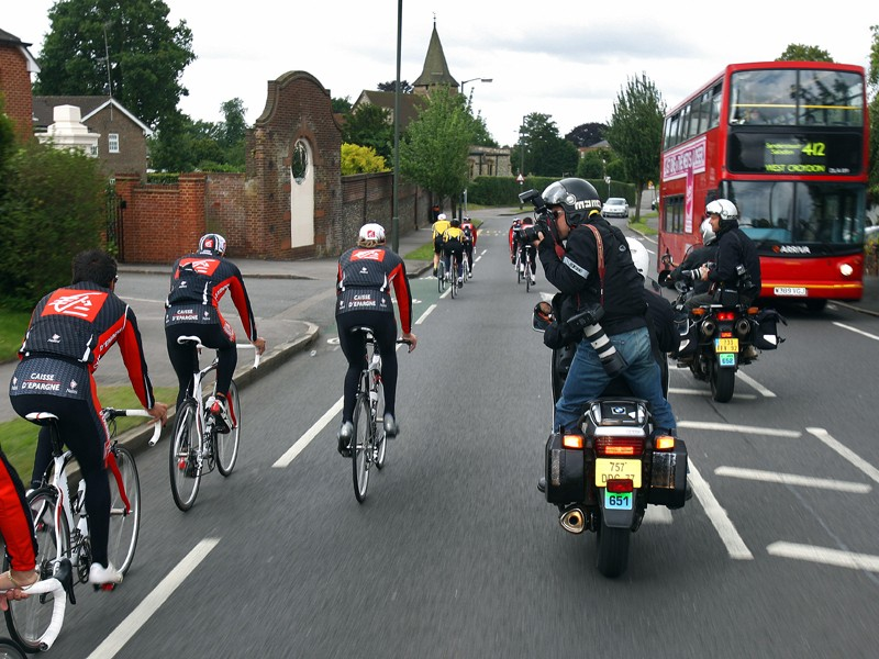 Excluding motorbikes from bus lanes could make it less dangerous for cyclists