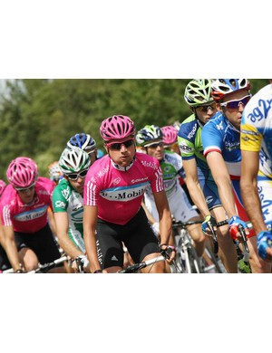 Sinkewitz during the first stage of the 2007 Tour.